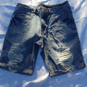 Forever 21 men's jean shorts
